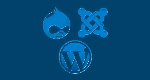 drupal-joomla-wordpress